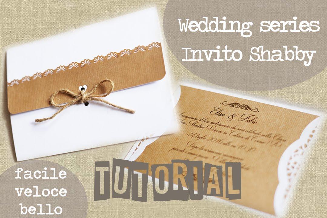 Partecipazioni Matrimonio Country Chic Fai Da Te : Partecipazione invito shabby di nozze wedding invitations shabby