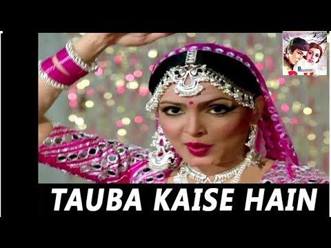 Tauba Kaise Hai Nadan Ghunghroo Payal Ke   Lata Mangeshkar   Arpan 1983 Songs   Parveen Babi