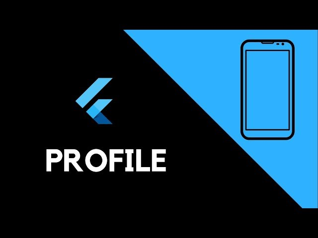 Flutter UI - Profile Screen