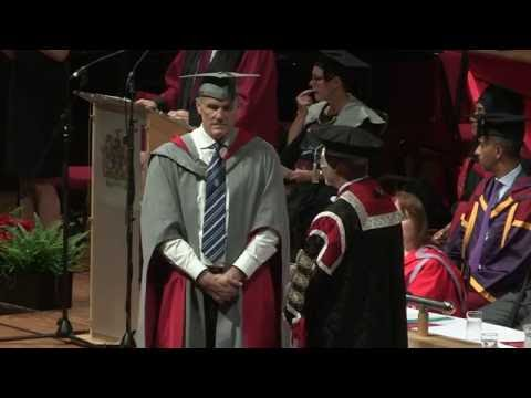 UCLan Graduation Ceremony: Wednesday 13th July 2016 - Afternoon