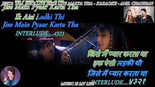 Jeeta Tha Jiske Liye  - karaoke With Scrolling Lyrics Eng. & हिंदी_Full-HD.mp4