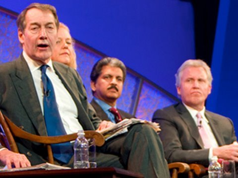 Leadership for the 21st Century: Charlie Rose Moderates