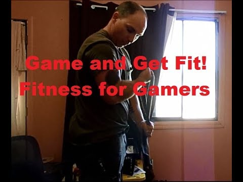 Game and Get Fit:  FREE Fitness Routines and Tips for Gamers.
