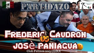 Billar a 3 bandas Frédéric Caudron vs Jóse Paniagua 2013