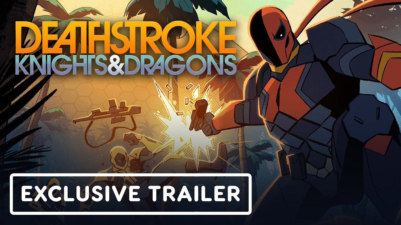 Deathstroke Knights Dragons The Movie Exclusive Official Trailer 2020 Youtube