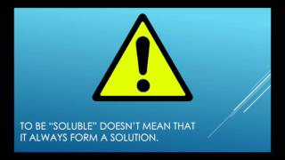 Solubility and Solute-Solvent Interactions thumbnail