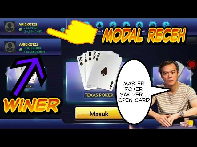 Modal Receh Menang Banyak Berasah Dapat Straigh Flush Di Idn Poker Youtube