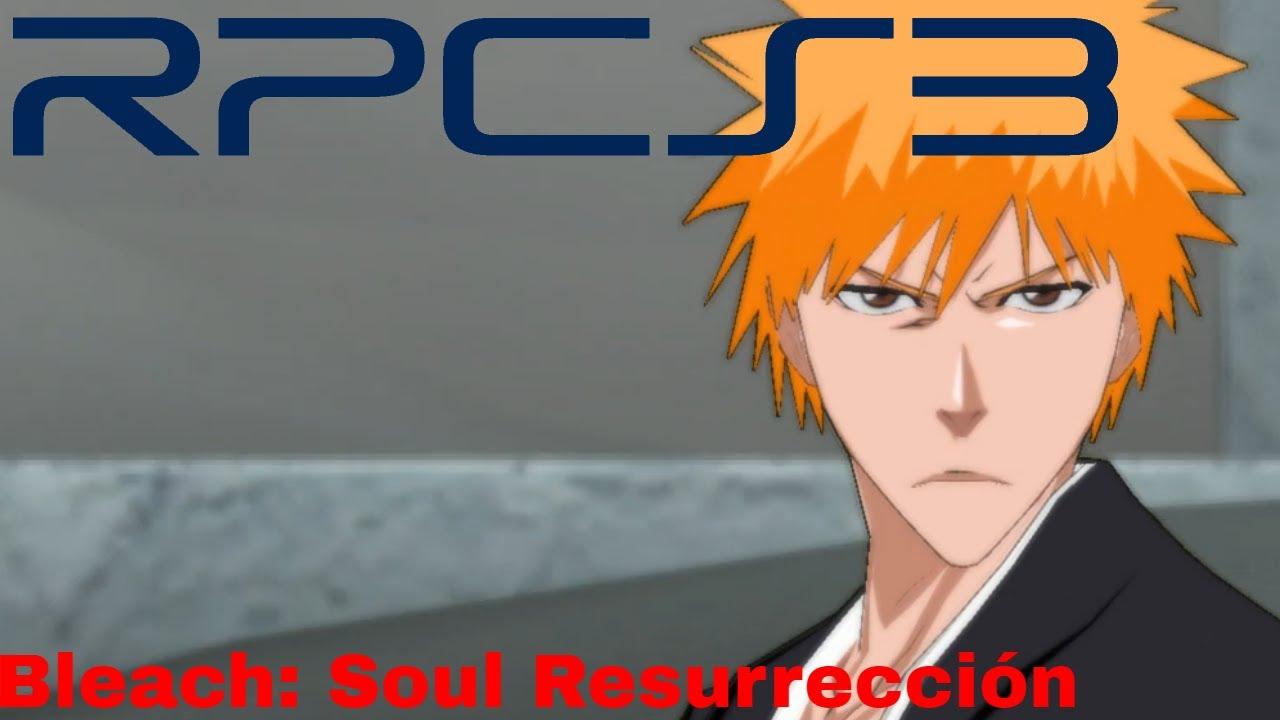 PS3 Emulator] RPCS3 v0 0 5 7737 | Bleach: Soul Resurrección