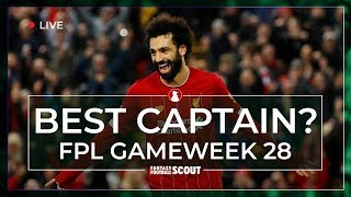 FPL GW28 | BEST CAPTAIN PICKS | Liverpool stars top blank Gameweek options| Fantasy Prem