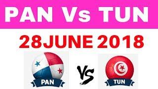 PAN VS TUN Dream11 football wc 28 june 2018 pan vs tun dream11 today probable11 pan vs tun