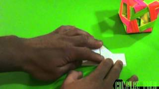 How To Fold An Origami Decoration Box
