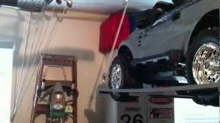 Home Made Hoist for Lifting Power Wheels or Jeep Roof