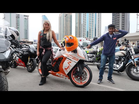 SUPERBIKE OWNERS OF DUBAI (SHE BOUGHT A SUPERBIKE IN DUBAI)