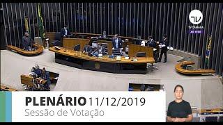 Plenário - Novo marco legal do saneamento básico - 11/12/19 - 13:00