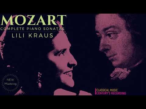 Mozart - Piano Sonatas Nos.1,2,3,4,5,6,7,8,9,10,11,12,13,14,15,16,17 (Century's record.: Lili Kraus)