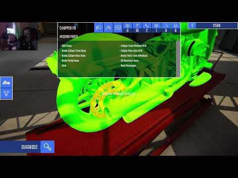 hur kan jag ha missat de I Biker Garage Mechanic Simulator I |