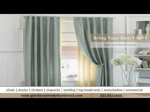 Curtains and Draperies in Castle Rock by Gotcha Covered