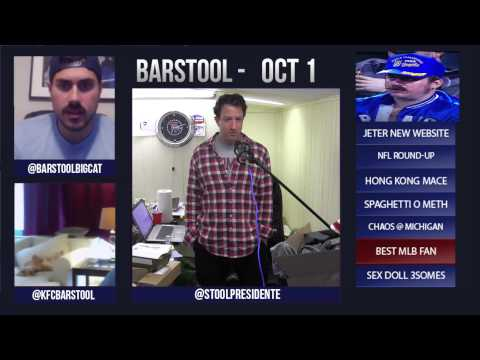 Barstool Rundown October 1