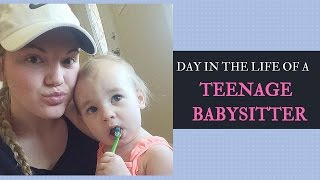 A Day in the Life of a Teenage Babysitter