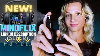 INSTANT Stress & Headache Relief | Reconnective ASMR Hypnosis | Spraying