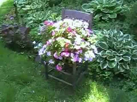 A Garden For All Seasons Hosta Companion Plants Youtube