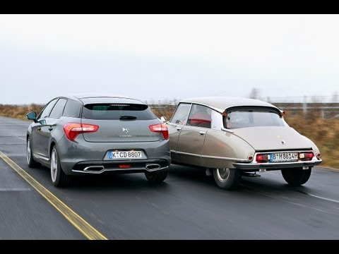 Citroën DS/DS5 - Generationen-Duell