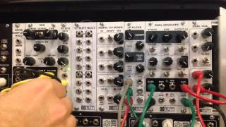 Synthrotek MST VCO Voltage Controlled Oscillator Eurorack Modular Demo