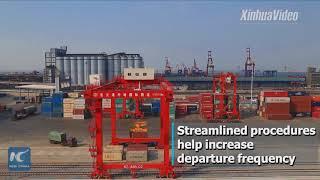700 China-Europe trains pass through NW China's Xinjiang in 2017