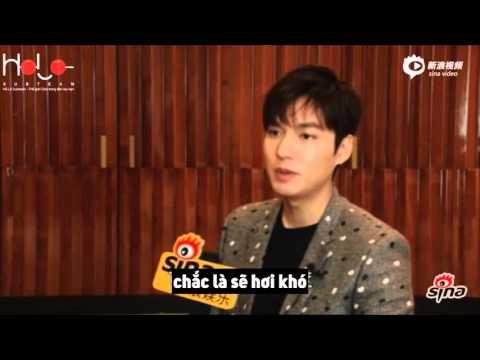 【Vietsub】 PV Độc Quyền Lee Min Ho cho Sina về phim Thợ Săn Tiền Thưởng