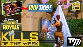 Fortnite: Battle Royale - TOP 10 KILLS OF THE WEEK #13 (WIN A GTX 1070 Ti)