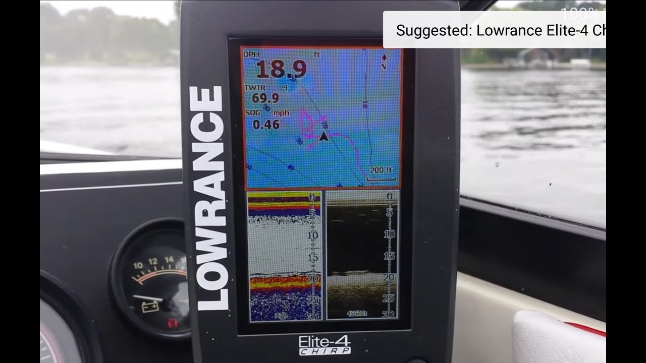 Lowrance Elite Chirp EASY FIX