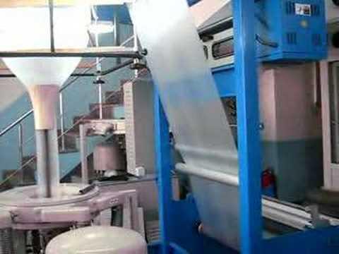 Fabrication De Film Plastique Par Extrudeuse Plastique