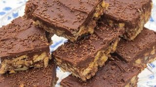 Chocolate Fudge Bars - Recipe