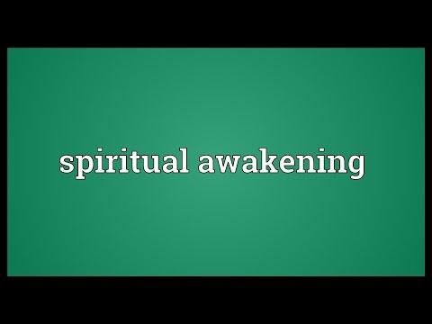 Spiritual awakening Meaning