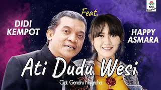 Didi Kempot feat. Happy Asmara - Ati Dudu Wesi (Official Video Lyric)