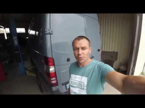 До Установка пневмоподвески на Mercedes-Benz Sprinter