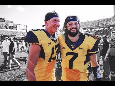 Will Grier & David Sills 2017 WVU Highlights - Best Duo In The Country