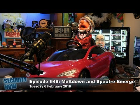 Security Now 649: Meltdown & Spectre Emerge