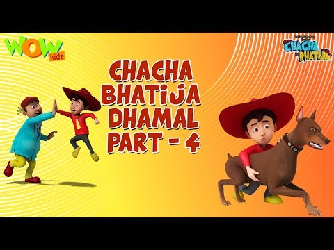 Chacha Bhatija Dhamaal Part 4 - Funny Videos And Compilations - 3D Animation Cartoon For Kids
