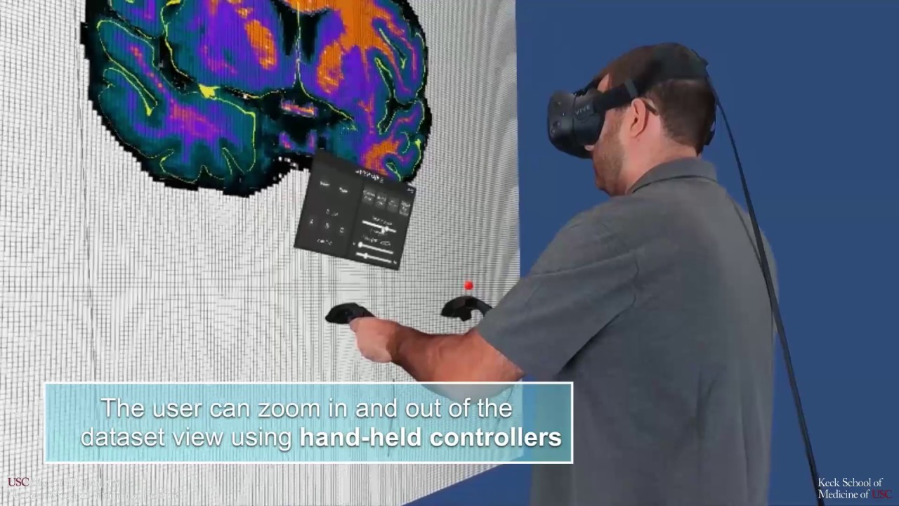 Virtual Reality Tool Corrects Errors in Brain Scan Data