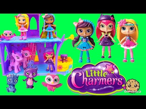Little Charmers Hazel, Lavender, And Posie Dolls Unboxing At POP MLP Twlights