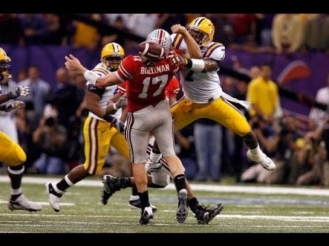 January 7, 2008 - BCS National Championship - #2 LSU vs #1 Ohio State