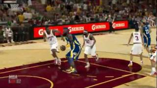 NBA 2K12 PC My Player - [13th game] Nasty Dunk
