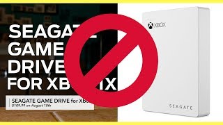 Xbox One X External Hard Drive Game Drive! Watch before you buy