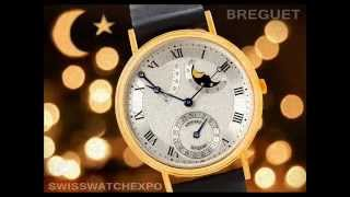 Swiss Watch Expo - Breguet Classique Power Reserve Moonphase Yellow Gold Watch 3137BA/11/986