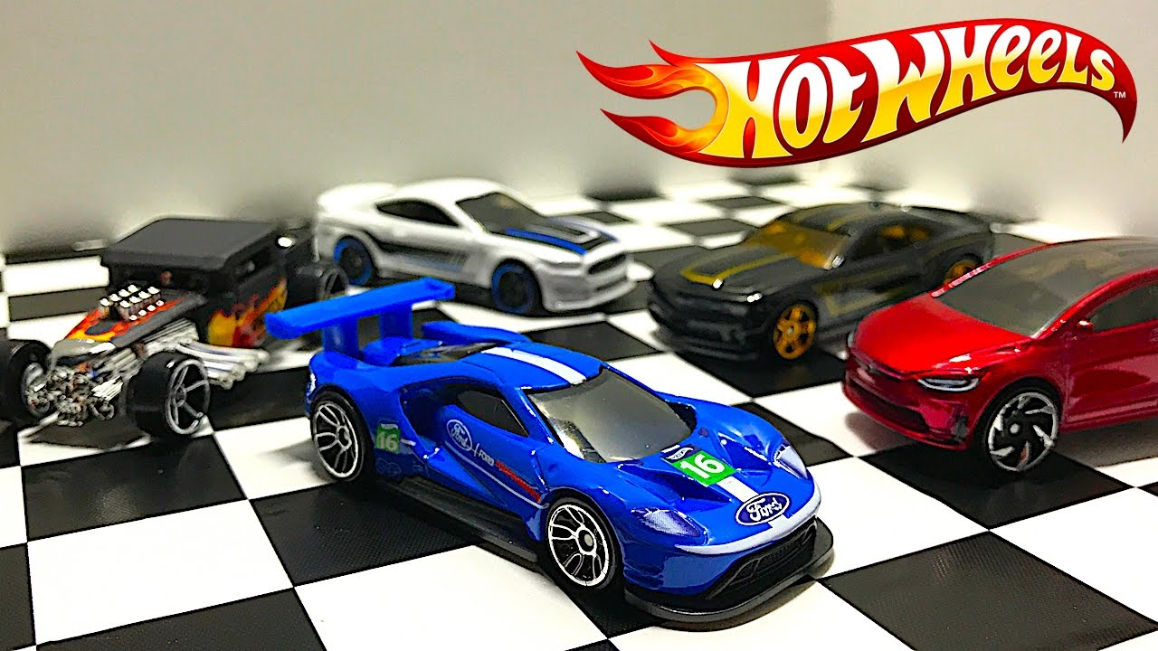 Unboxing New Hot Wheels Ford Gt Race Tesla Model X And More Youtube