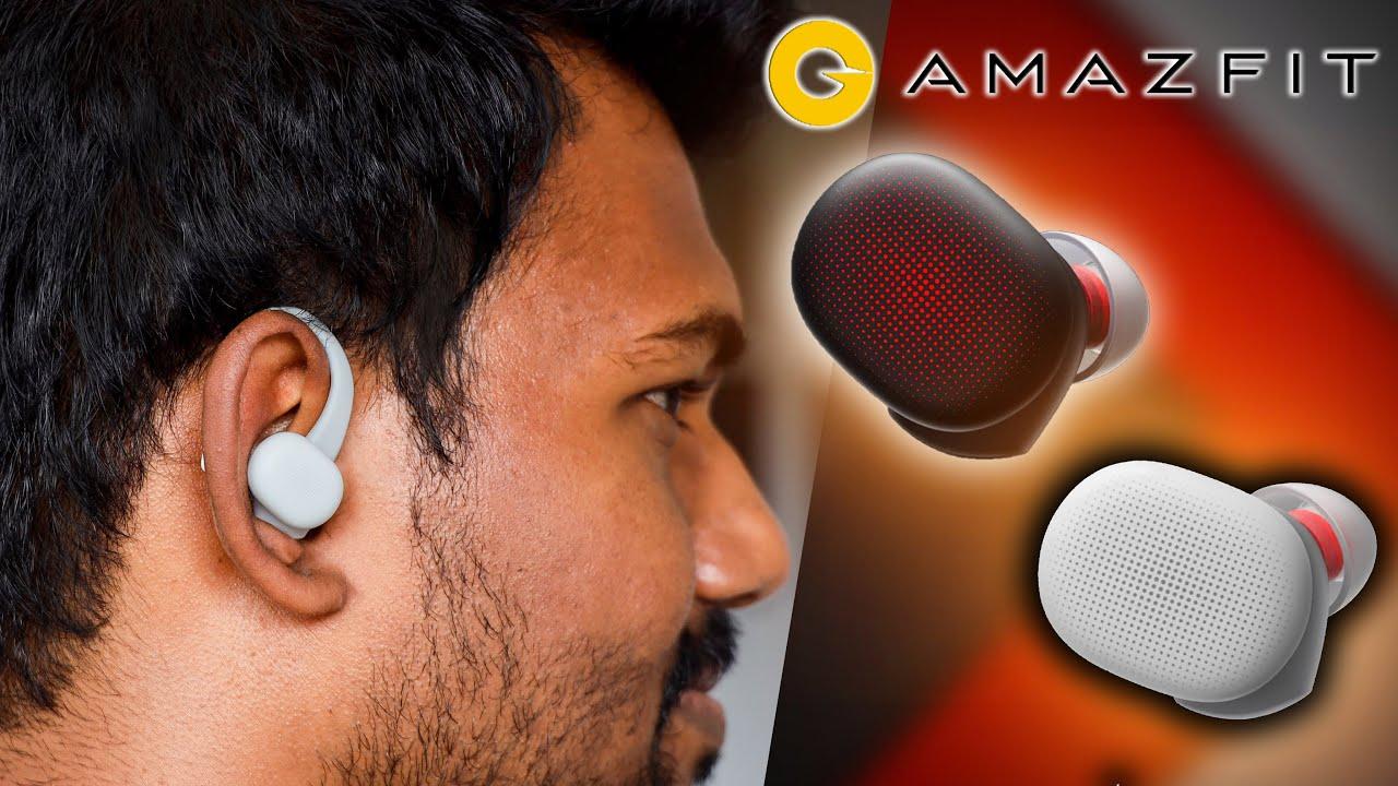 இதில் இவ்வளவு வசதிகளா ⚡⚡⚡  | Unboxing  & Review - Amazfit PowerBuds TWS | Giveaway | TechBoss