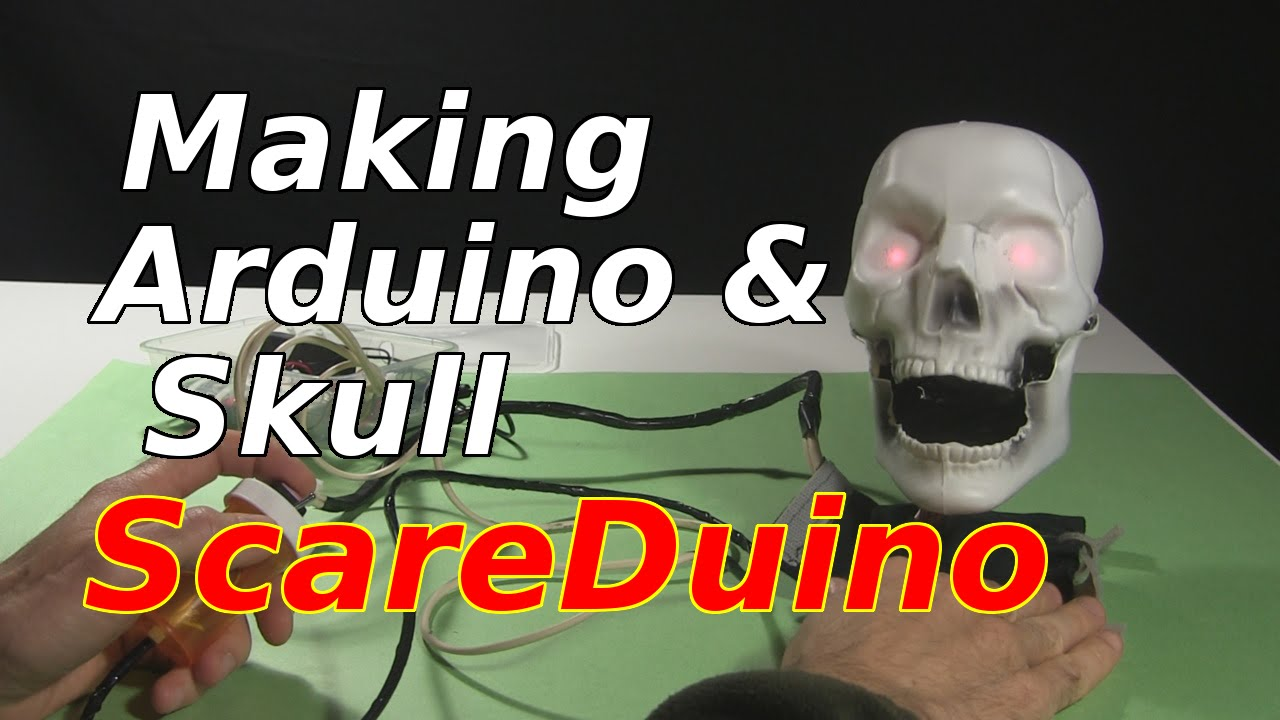 How To Make Scareduino Arduino Controlled Skull With Servo Leds Controller 555 150x150 Motor Control The Speaker Youtube