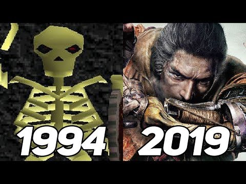 Evolution of From Software Games 1994-2019