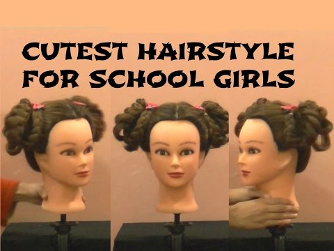 How to Make Cute & Quick Hairstyle for Medium length Hair for Girls, Specially for a Party